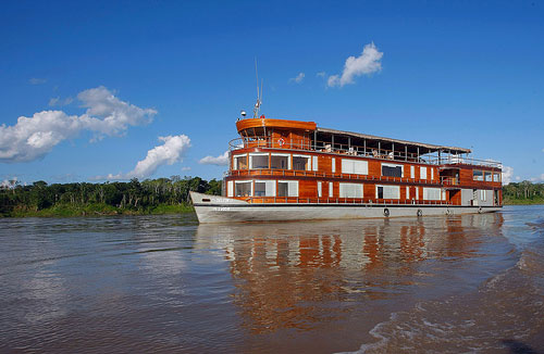 Iquitos cruise by Amazon river